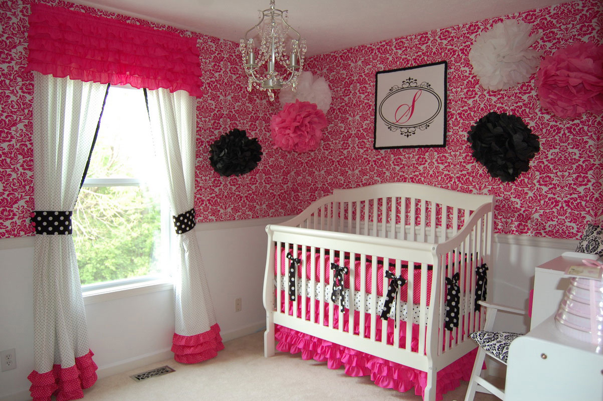 37+ Cute Baby Girl Nursery Ideas for Small Rooms - e - book