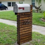 15+ Cool Mailbox Post Ideas | Unique & Creative Mailboxes