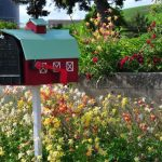 15+ Simple Mailbox Landscaping Ideas with Rocks & Flowers