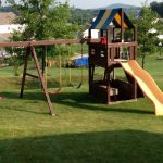 15+ DIY Swing Set Designs that Packs Lots of Fun | Backyard Playground