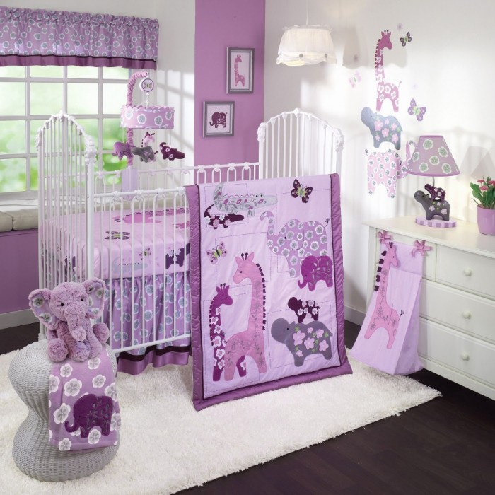 37+ Cute Baby Girl Nursery Ideas for Small Rooms - NRB