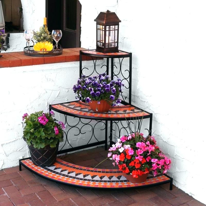 37+ Cheap DIY Plant Stand Ideas | Indoor - Outdoor - NRB on Iron Stand Ideas  id=36312