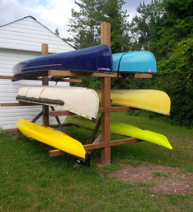 17 Best Kayak Storage Ideas Indoor, Kayak Storage Outside