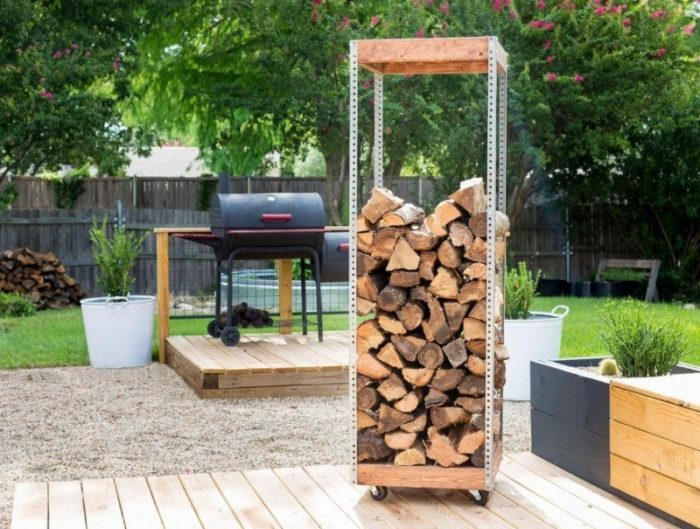 37+ Best DIY Firewood Rack & Storage Ideas | Indoor - Outdoor - NRB