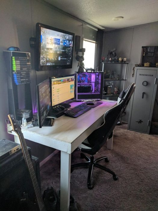 small video game room