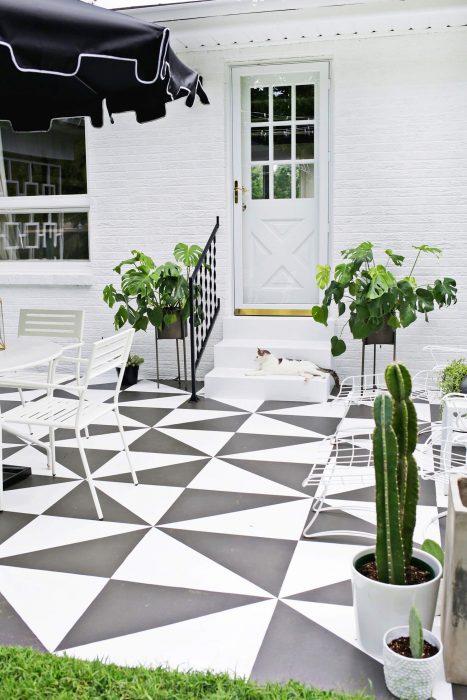 19 Cheap Patio Floor Ideas Outdoor Flooring Ideas Nrb