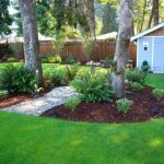15+ Landscaping Around Trees with Rocks, Stones & Flowers